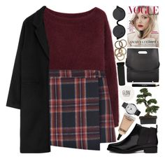 """"""".."""" by imthinkinginyou ❤ liked on Polyvore featuring Steven Alan, ASOS, Alexander Wang, 3.1 Phillip Lim, MAC Cosmetics, Topshop, Emporio Armani, Noir Cosmetics and Rachel Leigh"""