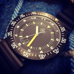 The #Laco Atacama a very clever design to give a large visible face #watchnerd #wornandwound