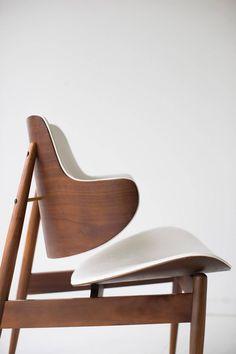 Pair 1960 S Danish Modern Lounge Chairs Made In Yugoslavia