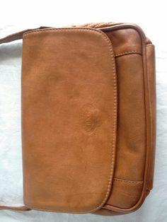 Vintage small leather Italian bag