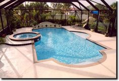 Pool Equipment in Small Yard   We design and construct new pools and spas to suit every need and ...