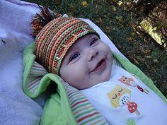 Baby Spirals Beanie