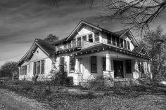 Abandoned house on Hwy 685 by Michael Connell, via Flickr...This is a beautiful house, I don't know why anyone would let it sit and rot!