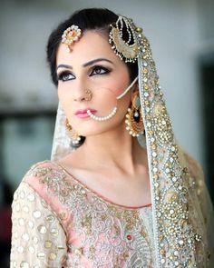 """shaadifashion: """" Bridal by Allechant Photo by Irfan Ahson """" Indian Wedding Fashion, Indian Bridal Wear, Asian Bridal, Pakistani Wedding Dresses, Pakistani Bridal, Punjabi Bride, Punjabi Wedding, Desi Wedding, Wedding Attire"""