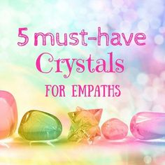 If you're a highly sensitive being, you may know all too well how easy it is to absorb the energies of environments and people. While being this intuitive has its[...] Highly Sensitive, Sensitive People, Reiki, Healing Crystals, Chakra Healing, Wicca Crystals, Crystals Minerals, Healing Stones, Crystals And Gemstones