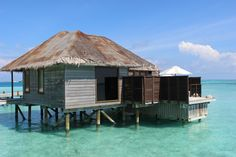 Review of a Deluxe Water Villa at the Conrad Maldives Rangali Island Resort by Wilson Travel Blog Us Travel, Family Travel, Water Villa, Island Resort, Hotel Reviews, Maldives, Adventure Travel, Around The Worlds, Cabin