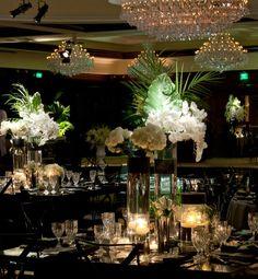 gatsby decorations | Reception Decor Ideas / Gatsby-inspired wedding decor