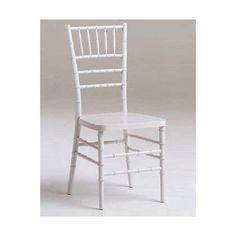 Advanced Seating Resin Chiavari Dining Side Chair Finish: White