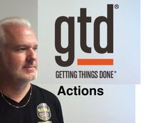 """Liked on YouTube: Getting Things Done - I try to explain """"Actions"""""""