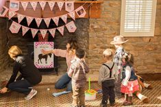Cowboy / Cowgirl Birthday Party Ideas | Photo 6 of 66