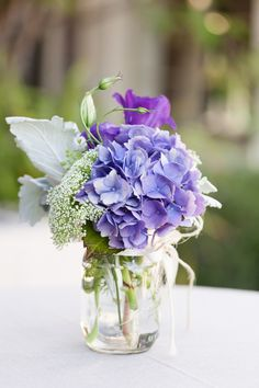 #hydrangea  Photography: Aurelia D'Amore - aureliadamore.com Event Planning: Amazing Grace Design - amazinggracedesign.com Floral Design: The Hidden Garden - hiddengardenflowers.com  Read More: http://www.stylemepretty.com/2013/06/07/malibu-wedding-from-aurelia-damore/