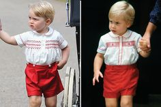 Vanity Fair on Twitter: Similar outfits but not quite the same-Prince George, 2015; Prince William, 1984