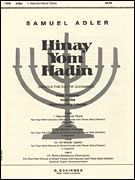 Hayom Harat Olam A Cappella W/Tenor Solo(Cantor) - From Four Prayers fr