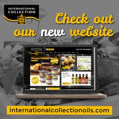 New website launched! Internationalcollectionoils.com