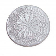 Lace Texture Coaster Medallion