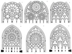 gothic architecture in india Gothic Architecture Drawing, Architecture Antique, Cathedral Architecture, Cathedral Tattoo, Die Renaissance, Site Art, Gothic Pattern, Gothic Windows, Rose Window