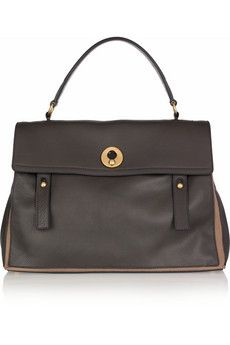 Yves Saint Laurent Muse Two Large leather tote  | NET-A-PORTER
