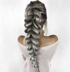 Unique braided ponytail hair tutorial 60 new hairstyle for woman in 2019 11 Fishtail Hairstyles, Easy Hairstyles, Fashion Hairstyles, Popular Hairstyles, Fishtail Plaits, Hair Plaits, Unique Braided Hairstyles, Cute Hairstyles Updos, Hairstyle Photos