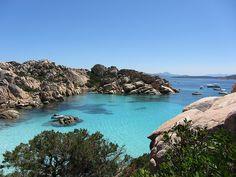 Cala Coticcio Isola Di Caprera Caprera Island Sardegna Sardinia Italia
