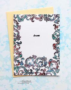 BerryCloud. Creo, ergo sum: Color dreams / Card