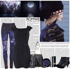 """Romwe Classic Styles Of Romwe Leggings Giveaway"" by littlelaura on Polyvore"