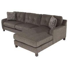 Siroun 2-Piece Corner Sofa w/Right Chaise