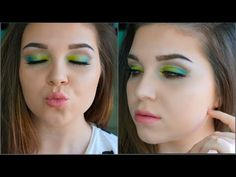 Festival Inspired Makeup - YouTube