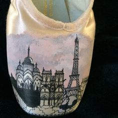 Tres chic! Paris looks lovely painted on a pointe shoe for your favorite dancer. Paris, Rome, New York-- any city you desire! Order soon for Christmas delivery.