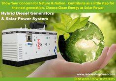 #Renewablepowersystemsdelhi #Solarpower #Dieselgenerators