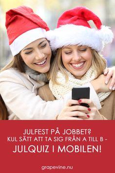 Till julfesten: Ett annorlunda julquiz - i mobilen! Grape Vines, Winter Hats, Fashion, Velvet, Moda, Fashion Styles, Vineyard Vines, Fashion Illustrations, Vines