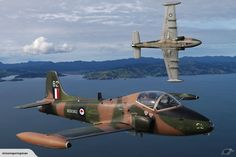 BAE Strikemasters Ex RNZAF Military Jets, Military Aircraft, Wings Etc, Air New Zealand, Anzac Day, Aircraft Photos, Commercial Aircraft, 12 Days Of Christmas, Charity