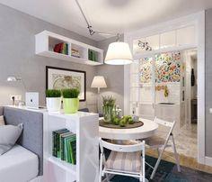 Kis lakás egy egyedülálló hölgynek - egy remek 25nm-es otthon praktikus…