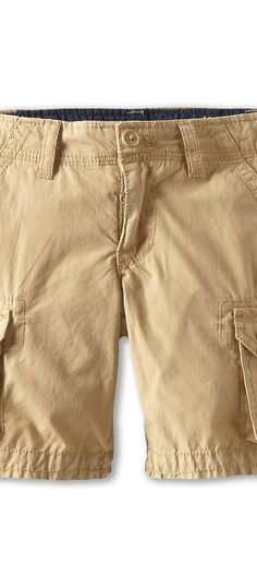 Tommy Hilfiger Kids Back Country Cargo Short (Toddler/Little Kids) (Chino) Boy's Shorts - Tommy Hilfiger Kids, Back Country Cargo Short (Toddler/Little Kids), T360004-232, Apparel Bottom Shorts, Shorts, Bottom, Apparel, Clothes Clothing, Gift, - Fashion Ideas To Inspire