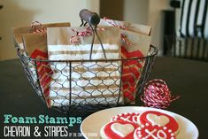 The Crafted Sparrow: DIY Foam Stamps  SUCH a creative way to do this!! CUTE!