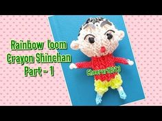 Rainbow loom C.S. charm Part 1彩虹橡筋小新教學 - YouTube Crayon Sin Chan. Part 1 of 3. All three videos are uploaded. Just go to her channel.