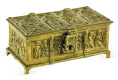 Gilt Bronze Box