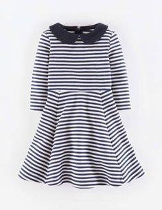 Stripy Skater Dress 33385 Day Dresses at Boden