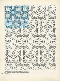 Pattern in Islamic Art - Geometric Patterns, Tile Patterns, Geometric Designs, Pattern Art, Textures Patterns, Geometric Shapes, Pattern Design, Islamic Art Pattern, Arabic Pattern