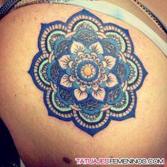 tatuajes de mandalas para mujeres 18