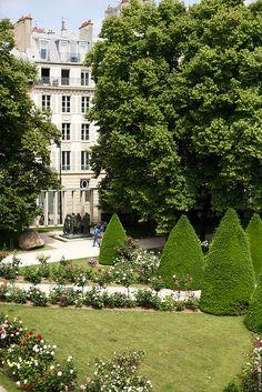 Gardens of Rodin Museum, Paris