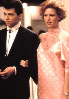 "Pretty in Pink. My favorite movie of all times! I ""heart"" Duckie."