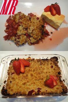 Crumble de fresas[enviada por montse-2009]