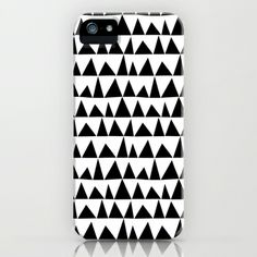 Playful+triangles+iPhone+&+iPod+Case+by+Cecilia+Andersson+-+$35.00