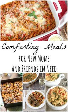 Easy comfort food recipes from top bloggers! The perfect meals to take to new moms, or friends who're sick or have lost a loved one. Great for potlucks, too! ~ from Two Healthy Kitchens at www.TwoHealthyKitchens.com