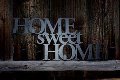 Home sweet home - w kolorze czarny mat