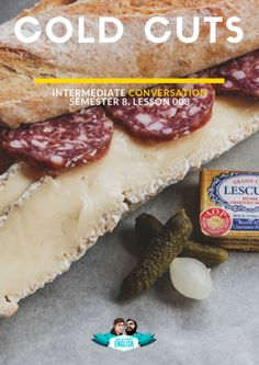 This is an ESL conversation topic lesson which includes ESL conversation starters, ESL conversation activities, and ESL discussion questions. This paticular topic-based lesson tackles cold-cuts! Conversation Topics, Conversation Starters, Cold Cuts, Esl, Told You So, Activities, This Or That Questions, Food, Kitchens
