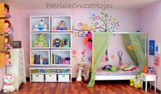 Patricia Cruzat Artesania y Color: Su habitación de Niña en un Gran Cuadro, un Recuerdo con Miniaturas...