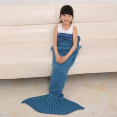SHARE & Get it FREE | 2016 Fashion Fish Scale Tail Shape Flouncing Sleeping Bag Mermaid Design Knitting Blanket For ChildrenFor Fashion Lovers only:80,000+ Items • New Arrivals Daily • FREE SHIPPING Affordable Casual to Chic for Every Occasion Join RoseGal: Get YOUR $50 NOW!