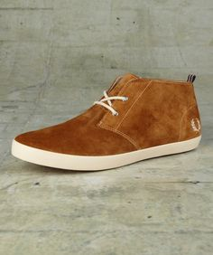 fred perry suede