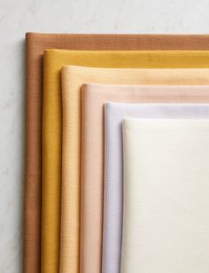 inspiring color palette featuring rust, mustard, peach, pink, lilac and ivory. / sfgirlbybay